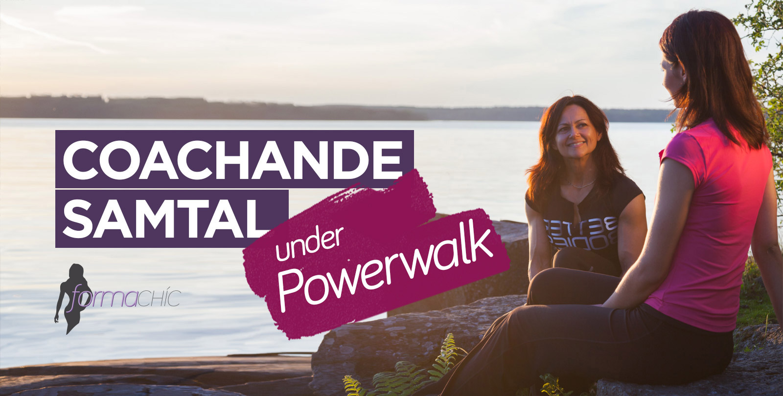 Coachande samtal under Powerwalk